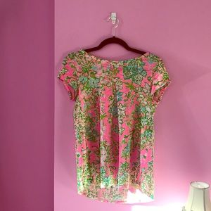 Lilly Pulitzer shirt, women's small